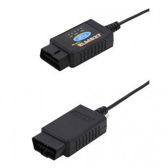 ELM327 USB FTDI PIC18F25K80 Chip ELMconfig Code Reader for Ford HS CAN/MS CAN Forscan ELM 327  OBDII Diagnostic Tool