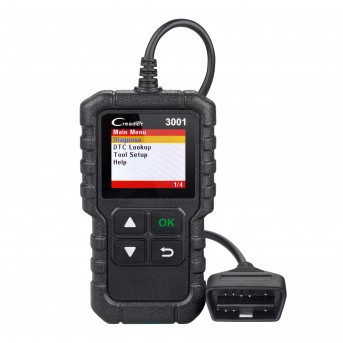 New arrival LAUNCH Full OBDII/EOBD code reader scanner Creader 3001 diagnostic tool Multilingual Support CR3001 same as AL419
