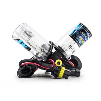 1pair Xenon HID Replacement Bulbs Headlights Car Lamp 35W 12V H4-2 high quality
