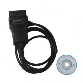 Top selling HDS Cable OBD2 Diagnostic Cable For H-ONDA Multi-langauge HDS interface Free Shipping
