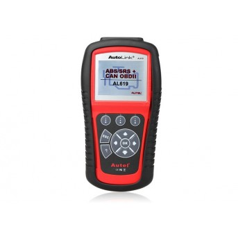 Autel AutoLink AL619 ABS/SRS + Can OBDII Diagnostic Scan Tool