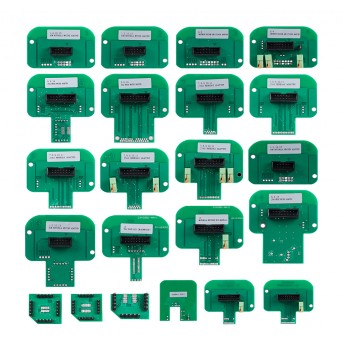 22pcs BDM adapters For KESS V2 KTAG K-Tag KTM Dimsport BDM Probe Adapters Full Set LED BDM Frame ECU RAMP Adapters