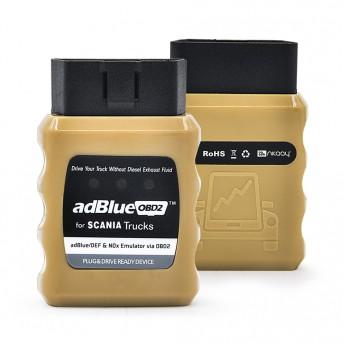 AdBlue Emulator Professional NOX Emulation AdblueOBD2 Plug&Drive Ready Device by OBD2 Trucks Adblue OBD 2 for Scania