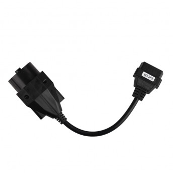 1Pc OBD OBD II Adapter for BMW 20 pin to OBD2 16 PIN Female Connector e36 e39 X5 Z3 for BMW 20pin Newest
