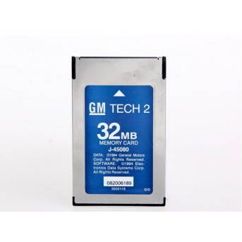 Newest gm tech2 32mb card , original for tech2 diagnostic tool GM Tech 2 Card include any of Opel,SUZUKI,SAAB,Holden Tech2 Card