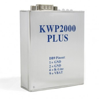 KWP2000 Plus ECU Chip Tuning Flasher OBD2 Diagnostic Tool