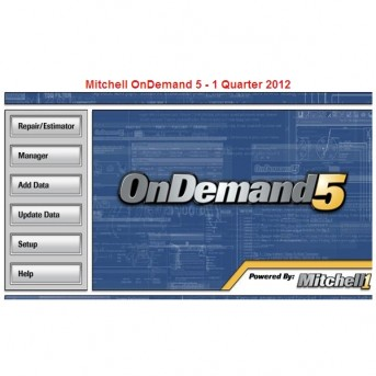 yang paling kuat Mitchell OnDemand 5 Q1.2012 software, 320 G HDD diskon promosi