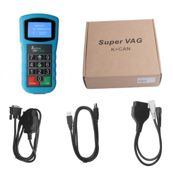 Multi-Functional Car Diagnostic Tool Super VAG K+Can Plus 2.0 OBDII / EOBD / CAN-BUS Code Reader Super VAG K CAN 2.0