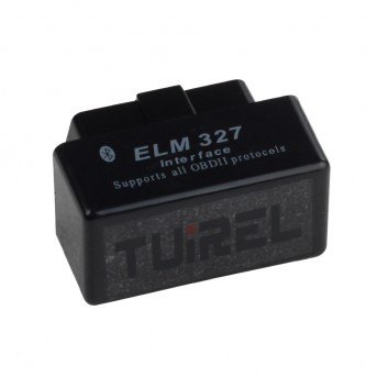10 Pieces Super MINI ELM327 Bluetooth Version OBD2 Diagnostic Scanner Software V2.1 (Black)