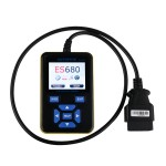 E-SCAN ES680 VAG RPO+OBD Scanner Multi Languages OBDII For VW Audi Seat Skoda Jetta Golf Etc
