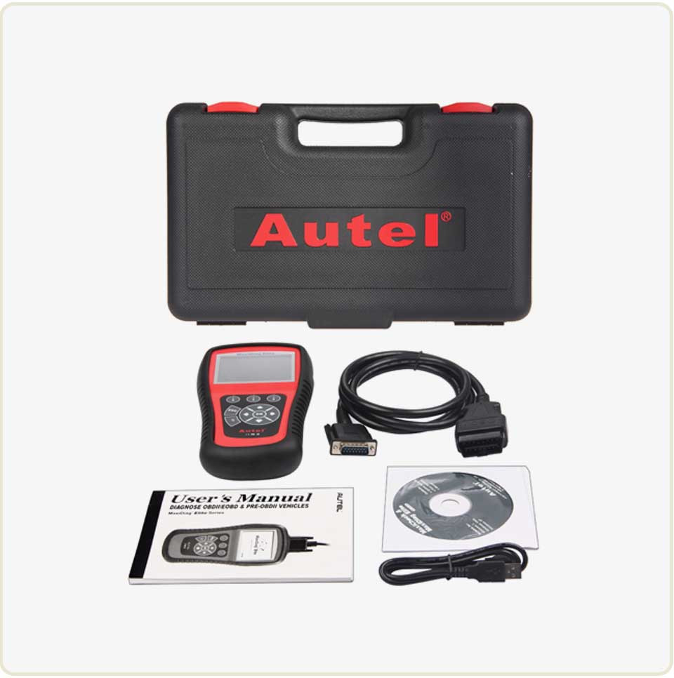 autel maxidiag elite md802 set