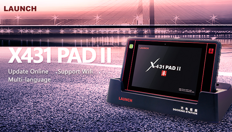 launch x431 pad ii