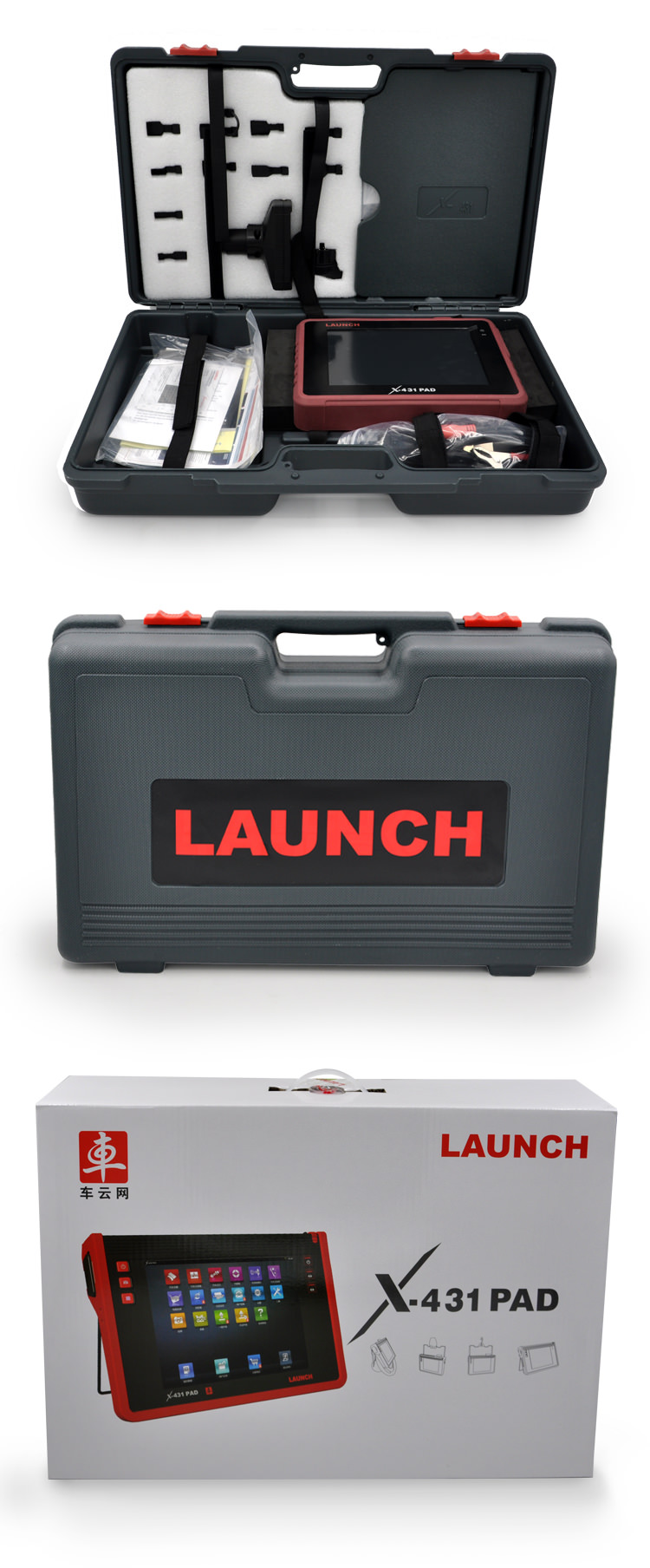 Launch x431 pad scanner