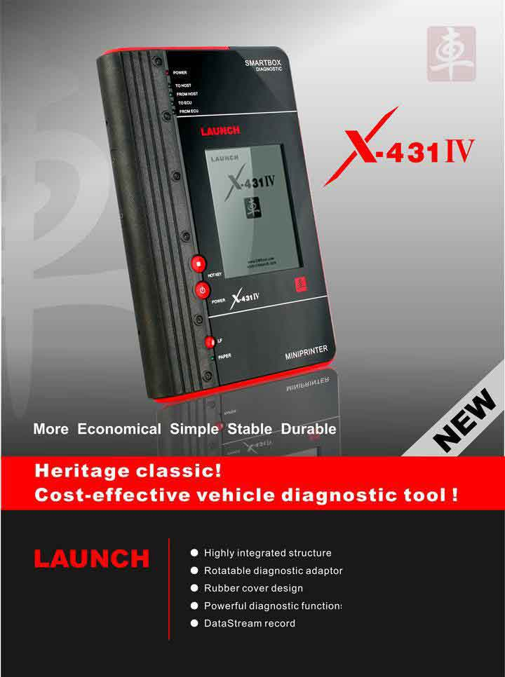 launch x431 iv master diagnostic tool