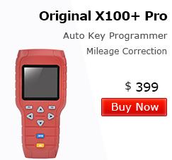 X100+ Auto key programmer